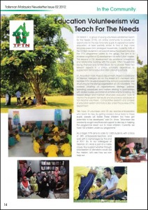 Talisman Newsletter Issue 02 2012