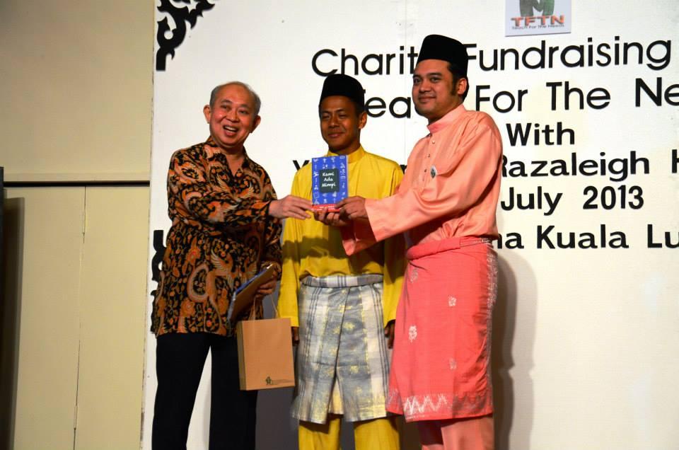 TFTN Charity Fundraising Dinner with YBM Tengku Razaleigh Hamzah