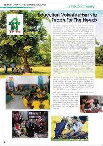 Talisman Newsletter Issue 02 2012